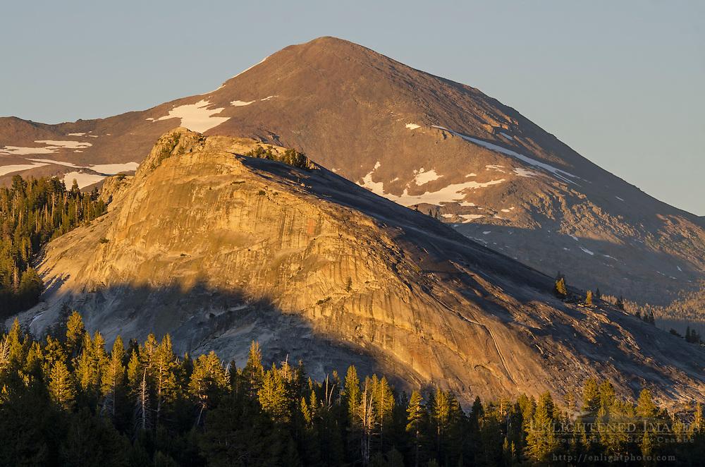 Lembert Dome and Mount Dana, Yosemite National Park, California