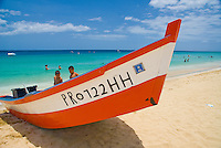 Colorful fishermen's boats