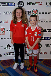 NANTGARW, WALES - Wednesday, March 1, 2017: Guests attend the premier of Don't Take Me Home - the incredible true story of Wales' Euro 2016 at Showcase Cinema Nantgarw on St. David's Day. (Pic by David Rawcliffe/Propaganda) xxxx