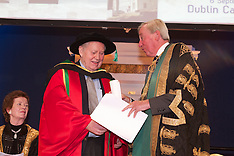 Conferred an honorary Doctorate of Laws (LLD) on Charles F. Chuck Feeney, The Atlantic