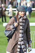 Deidre Johnson, wife of Trainer Mark Johnson during the October Finale Meeting at York Racecourse, York, United Kingdom on 11 October 2019.