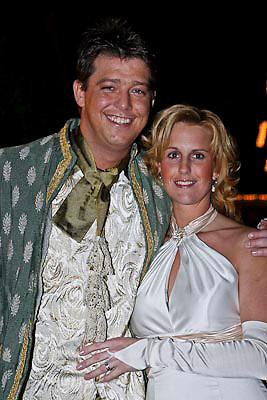 NLD/Volendam/20081221 - Housewarming feest Jan Smit en partner Yolanthe Cabau van Kasbergen, Aloys Buys en partner