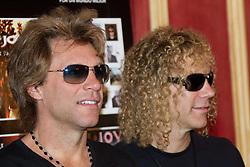 04.06.2010, Madrid, ESP, Bon Jovi Photocall before tonight's concert at Rock in Rio Madrid, im Bild (L to R)  Jon Bon Jovi, and David Bryan (David Rashbaum). EXPA Pictures © 2010, PhotoCredit: EXPA/ Alterphotos/ Cesar Cebolla / SPORTIDA PHOTO AGENCY