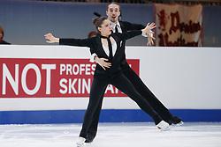 23.01.2020, Schwarzl See, Premstätten bei Gtaz, AUT, Eiskunstlauf Europameisterschaften, Eistanz Rhythmustanz, im Bild Victoria Manni und Carlo Roethlisberger (SUI) // Victoria Manni and Carlo Roethlisberger (SUI) during the European Figure Skating Championships, Ice Dance Rhythm Dance, at the Schwarzl See in Premstaetten near Graz, Austria on 2020/01/23. EXPA Pictures © 2020, PhotoCredit: EXPA/ Erwin Scheriau