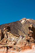 View of the volcano El Teide, Tenerife, Spain