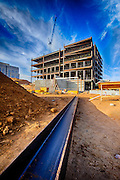 Steel Girder ready for building installation