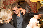 VICKEN PARSONS; JAY JOPLING; HIKARI YOKOYAMA, Charles Finch and  Jay Jopling host dinner in celebration of Frieze Art Fair at the Birley Group's Harry's Bar. London. 10 October 2012.