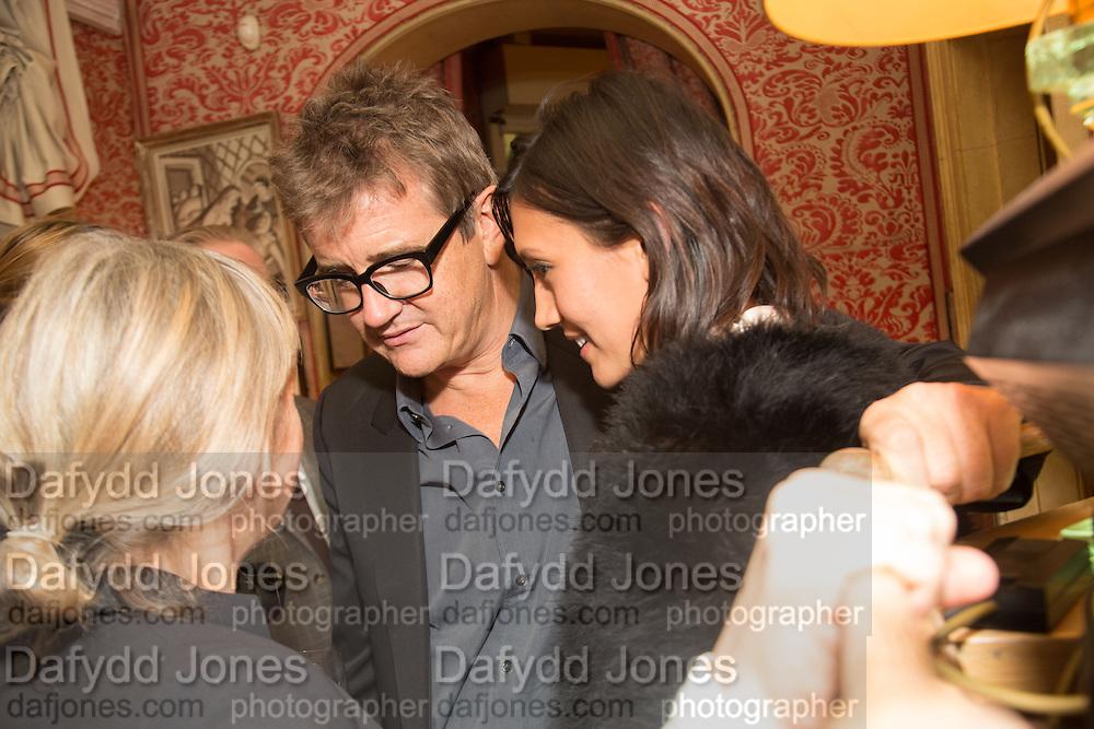 VICKEN PARSONS; JAY JOPLING; HIKARI YOKOYAMA, Charles Finch and  Jay Jopling host dinner in celebration of Frieze Art Fair at the Birley Group's Harry's Bar. London. 10 October 2012.