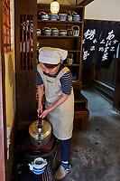Japon, île de Honshu, région de Kansaï, Kyoto, la maison de thé Kazariya-Aburi-Mochi // Japan, Honshu island, Kansai region, Kyoto, Kazariya-Aburi-Mochi tea house