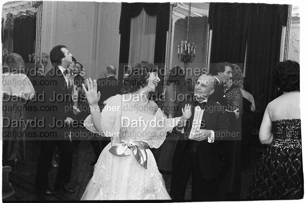 Mr and Mrs H.Mazandi. Turkish Ambassadr Party© Copyright Photograph by Dafydd Jones 66 Stockwell Park Rd. London SW9 0DA Tel 020 7733 0108 www.dafjones.com