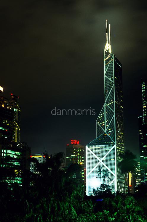 IM Pei's Bank of China Building, Hong Kong