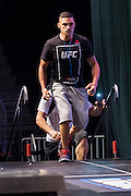 LAS VEGAS, NV - JULY 8:  Diego Sanchez walks to the scale during the UFC 200 weigh-ins at T-Mobile Arena on July 8, 2016 in Las Vegas, Nevada. (Photo by Cooper Neill/Zuffa LLC/Zuffa LLC via Getty Images) *** Local Caption *** Diego Sanchez