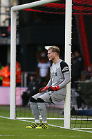 Football - 2016 / 2017 Premier League - AFC Bournemouth vs. Liverpool<br /> <br /> Loris Karius of Liverpool lines up a defensive wall at Dean Court (The Vitality Stadium) Bournemouth<br /> <br /> COLORSPORT/SHAUN BOGGUST