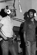 Aswad recording session - Kingston Jamaica 1980