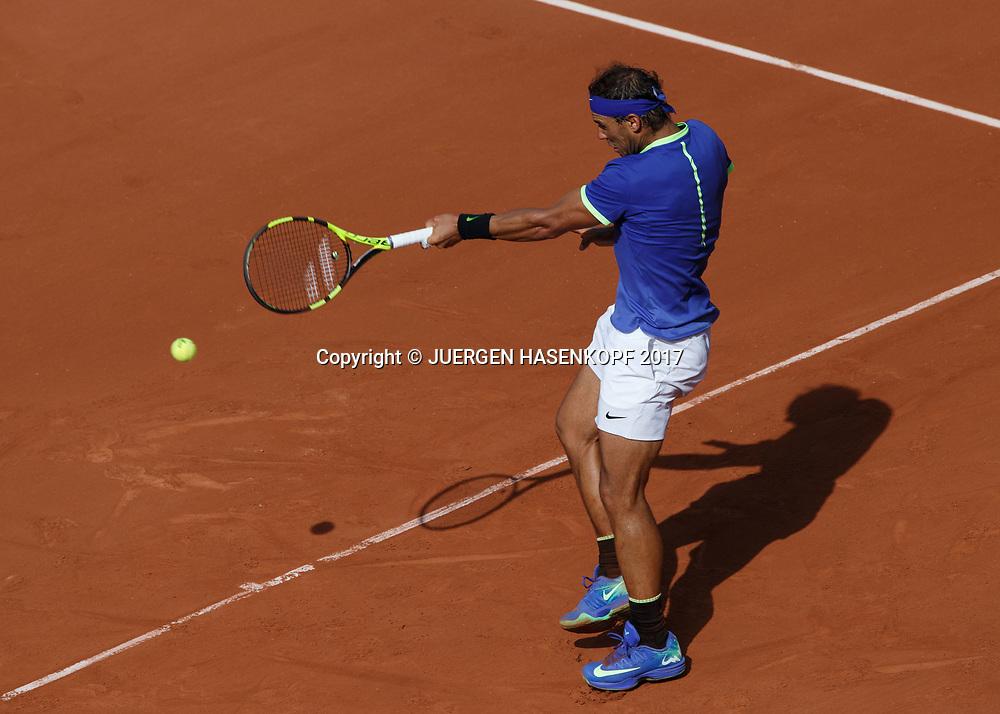RAFAEL NADAL (ESP)<br /> <br /> Tennis - French Open 2017 - Grand Slam ATP / WTA -  Roland Garros - Paris -  - France  - 31 May 2017.