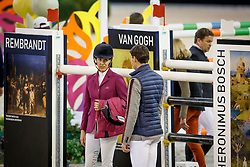 Diniz Luciana, POR, Philippaerts Nicola, BEL<br /> The Dutch Masters<br /> Indoor Brabant - 's Hertogen bosch 2018<br /> © Dirk Caremans<br /> 10/03/2018
