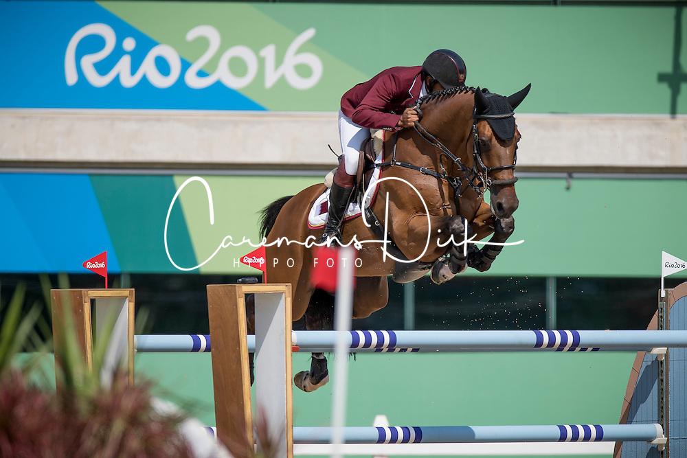 Mohammed Bassem Hassan, QAT, Primeval Dejavu<br /> Olympic Games Rio 2016<br /> &copy; Hippo Foto - Dirk Caremans<br /> 16/08/16