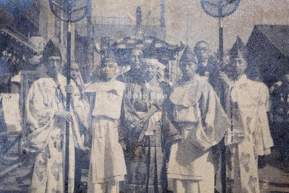 Shinto street festival Japan 1960s