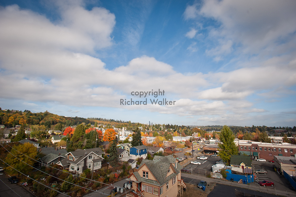 2012 October 15 - View of Columbia City, Seattle, WA. By Richard Walker