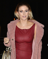Ashley James attends the Universal BRITs after party in London, UK. 22/02/2017<br />