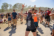 Attendees at the Firefly Music Festival in Dover, DE on June 22, 2014.