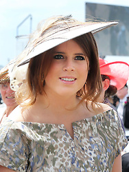 Princess Eugenie arriving at the Epsom Derby in Epsom, England, Saturday 1st June 2013 Picture by Stephen Lock / i-Images