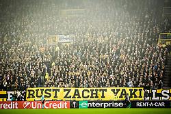 banner rust zacht yaki for Abubakari Yakubu during the UEFA Europa League group K match between Vitesse Arnhem and sv Zulte Waregem at Gelredome on November 02, 2017 in Arnhem, The Netherlands