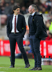 Middlesbrough manager Aitor Karanka (left) and Oxford Manager Michael Appleton