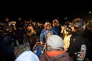 Photographs of John Baker's 2011 Iditarod run. Arriving in Unalakleet checkpoint. Stephen Nowers/Alaska Dispatch.