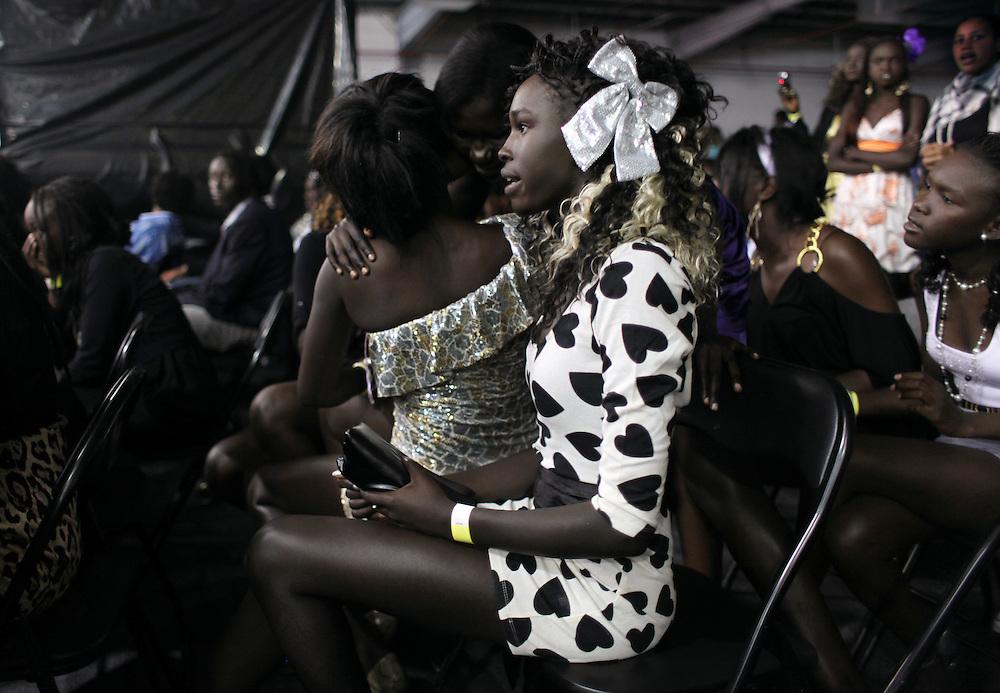 Miss South Sudan Australia Pageant, Melbourne.  2010.