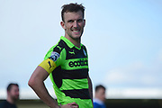 Forest Green Rovers forward Christian Doidge (9) 0-0 during the Vanarama National League match between Forest Green Rovers and North Ferriby United at the New Lawn, Forest Green, United Kingdom on 1 April 2017. Photo by Alan Franklin.