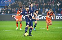 But Zlatan IBRAHIMOVIC - 20.03.2015 - Paris Saint Germain / Lorient - 30e journee Ligue 1<br /> Photo : Dave Winter / Icon Sport