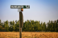 Joseph Hunsaker was a pioneer who came to Oregon via the Oregon trail. Hunsaker Cemetary, near Hunsaker Rd, is named for him although I cannot find naming origins of the road.