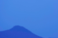 Blue mountains,  La Serena, Extremadura, Spain