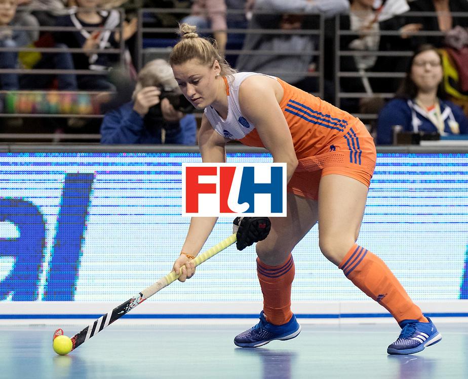 BERLIN - Indoor Hockey World Cup<br /> Final: Netherlands - Germany<br /> foto: Lieke van Wijk<br /> WORLDSPORTPICS COPYRIGHT FRANK UIJLENBROEK