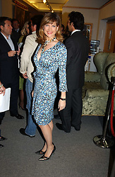 News reader KATIE DERHAM at the Macmillan Cancer Relief Celebrity Christmas Stocking Auction held at Christie's, South Kensington, London on 8th December 2004.<br /><br />NON EXCLUSIVE - WORLD RIGHTS