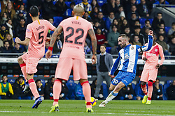 December 8, 2018 - Barcelona, Catalonia, Spain - RCD Espanyol midfielder Sergi Darder (10) during the match RCD Espanyol against FC Barcelona, for the round 15 of the Liga Santander, played at RCD Espanyol Stadium  on 8th December 2018 in Barcelona, Spain. (Credit Image: © Mikel Trigueros/NurPhoto via ZUMA Press)