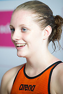 EYOF 2013 Zwemmen Krommerijn Utrecht. (L-R) Marrit Steenbergen (NED)