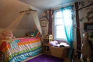 Rya Hickey's (daughter of Margaret B. Jones) bedroom in her mother's home in Eugene, Oregon