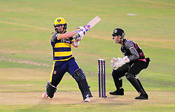 David Lloyd of Glamorgan in action.  - Mandatory by-line: Alex Davidson/JMP - 22/07/2016 - CRICKET - Th SSE Swalec Stadium - Cardiff, United Kingdom - Glamorgan v Somerset - NatWest T20 Blast