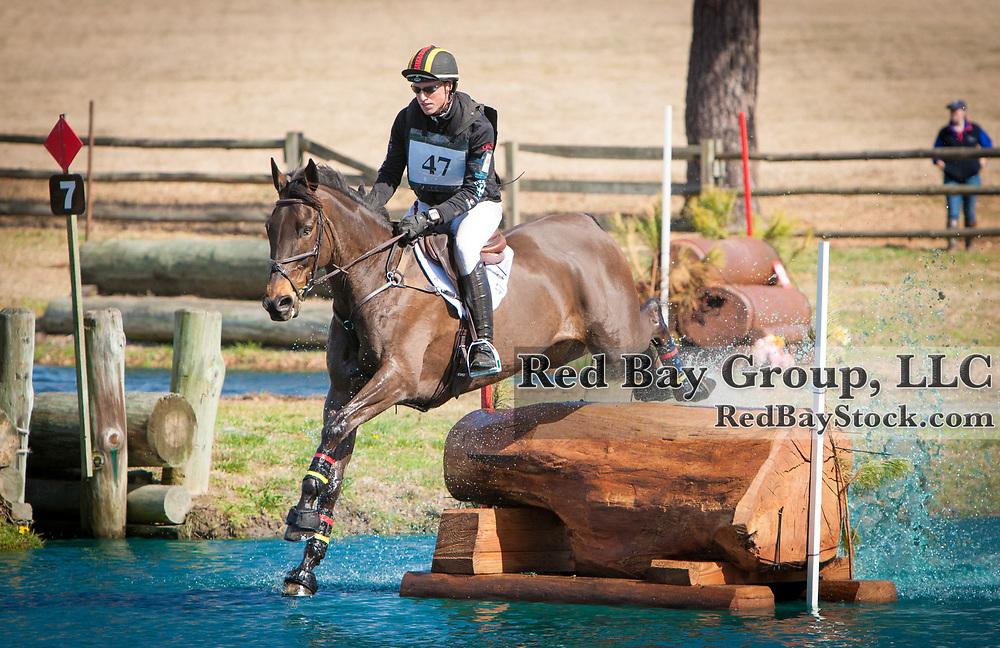 Doug Payne and Crown Talisman at the 2014 Pine Top Farm Advanced Horse Trials in Thomson, Georgia.