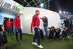 Marcus Rashford during a tour of the stadium before an England press conference ahead of the football match between National teams of Slovenia and England in Round #3 of FIFA World Cup Russia 2018 Qualifier Group F, on October 10, 2016 in SRC Stozice, Ljubljana, Slovenia. Photo by Morgan Kristan / Sportida