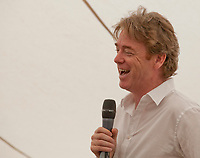Festival director David McWilliams at the 'Truth Matters: Media in an Age of Fake News' discussion at the Dalkey Book Festival, Dalkey, County Dublin, Ireland, Saturday 17th June 2017. Photo credit: Doreen Kennedy