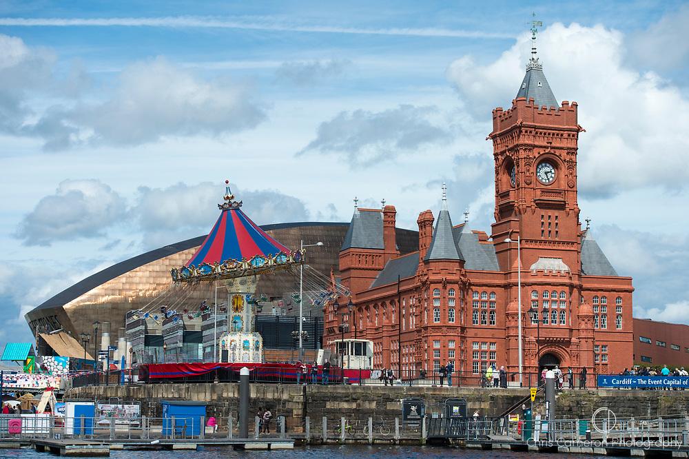 Mermaid Quay, Cardiff, Wales. 21/8/2014