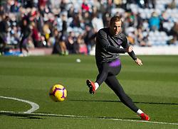 Harry Kane of Tottenham Hotspur warms up before the match - Mandatory by-line: Jack Phillips/JMP - 23/02/2019 - FOOTBALL - Turf Moor - Burnley, England - Burnley v Tottenham Hotspur - English Premier League
