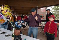 Roy's Birthday Kick Ball at Gunstock.  Karen Bobotas Photographer