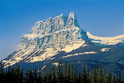 Peak of Castle Mountain<br /> Banff National Park<br /> Alberta<br /> Canada