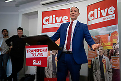 © Licensed to London News Pictures. 10/01/2020. London, UK. Clive Lewis speaking at the Black Cultural Archives in Brixton to launch his campaign for Leader of the Labour Party. Photo credit: Rob Pinney/LNP