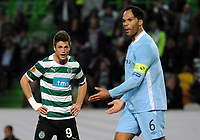 20120308: LISBON, PORTUGAL -UEFA Europa League 2011/2012 - 1st Leg: Sporting CP vs Man. City.<br />