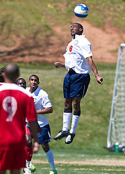 Virginia Cavaliers forward Matt Mitchell (9).  The North Carolina State Wolfpack defeated the Virginia Cavaliers 1-0 in NCAA Men's Soccer during a spring scrimmage at the Klockner Stadium practice field on the Grounds of the University of Virginia in Charlottesville, VA on April 4, 2009.